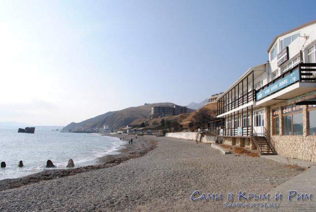 Дикий пляж Курортного