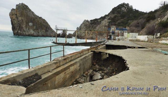 Стройка на 230 миллионов – центральный пляж Симеиза пропустит летний сезон 2019