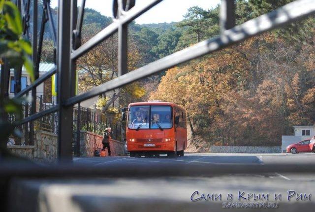 Автобус Ялта - Кореиз