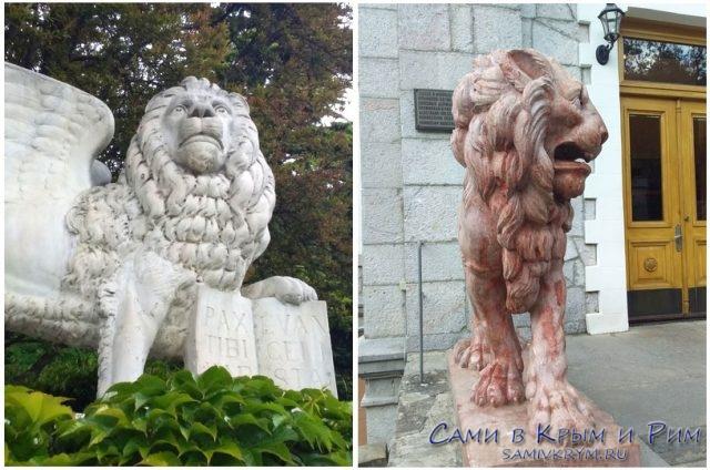Львы-в-Юсуповском-дворце