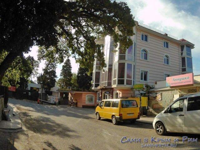 Остановка санатория Ай-Петри