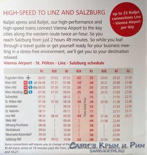 Расписание-поездов-аэропорт-Вены---Зальцбург