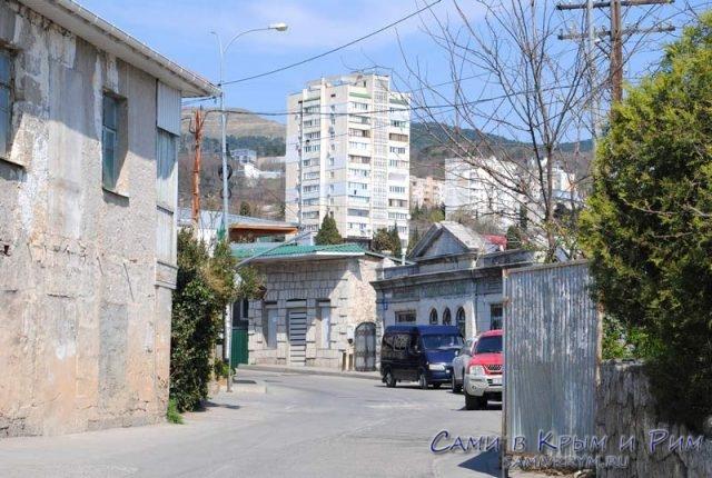 Улицы верхнего Кореиза