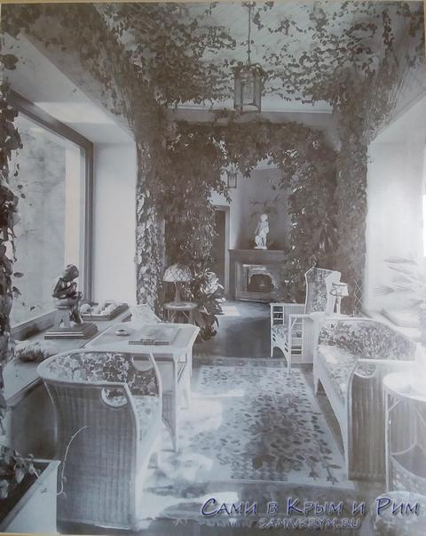 Обсатновка во дворце во времена Юсуповых