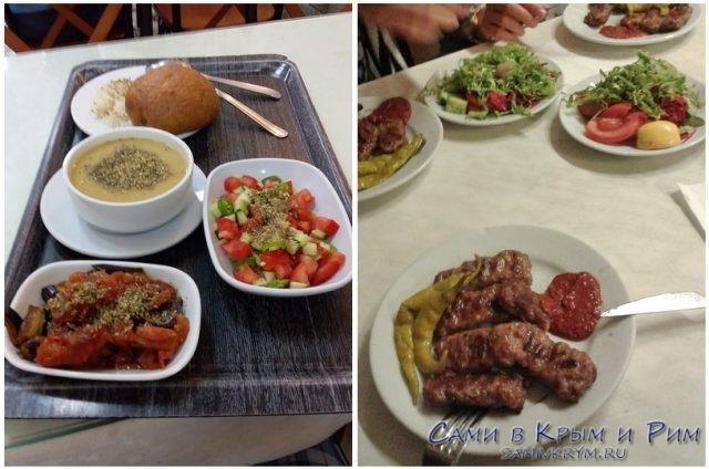 Обед в турецкой локанте