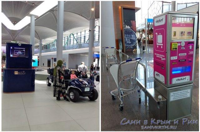 Баги-и-тележки-в-новом-аэропорту