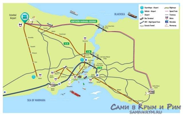 Планы-инфраструктуры-нового-аэропорта-Стамбула