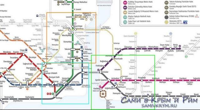 Районы-Стамбула-для-метро