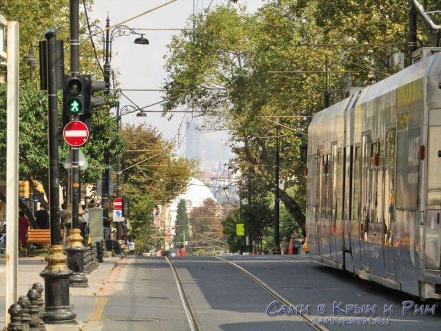 Туристический трамвай Т1