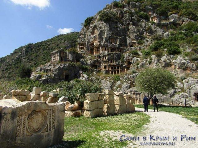 Античный город Мира