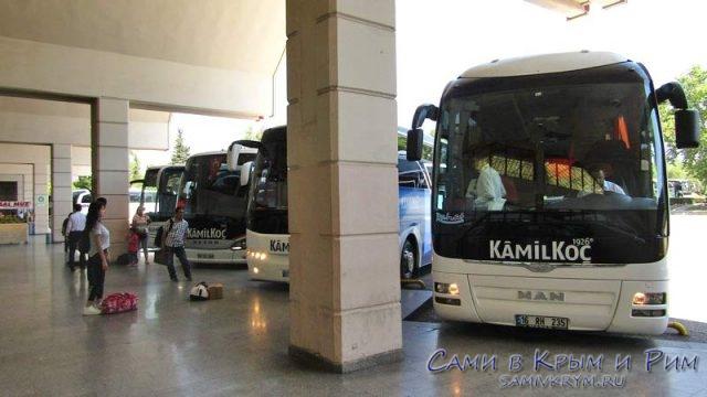 Автобусы компании Kamil Koc