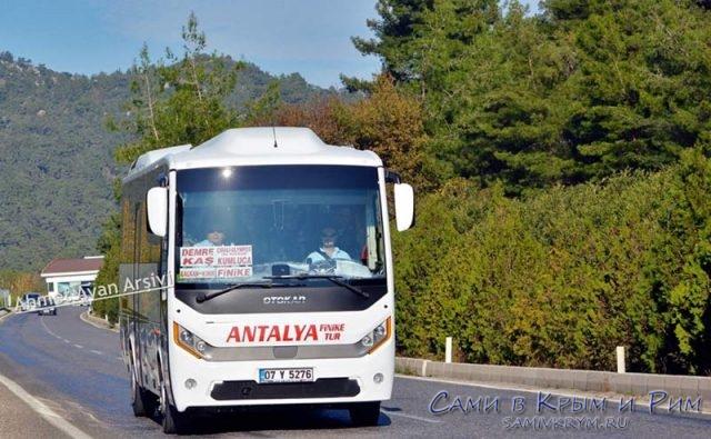 Автобусы в Каш