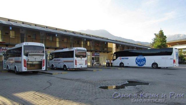 Автовокзал в Фетхие