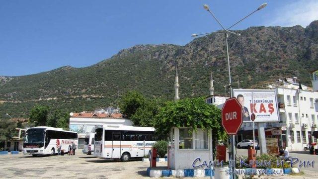 Автовокзал в Каше