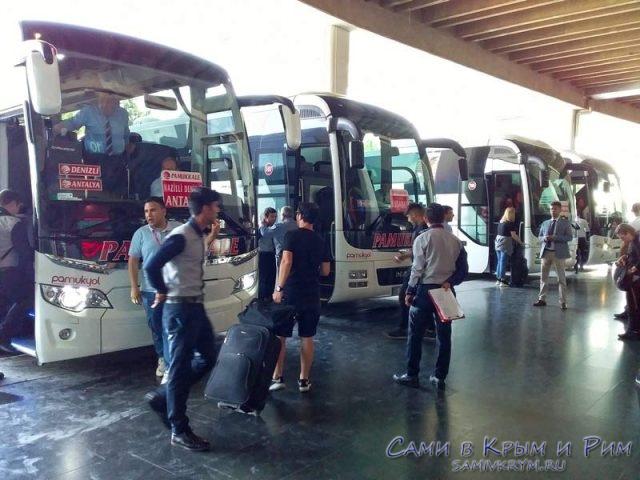 Автовокзалы в Турции