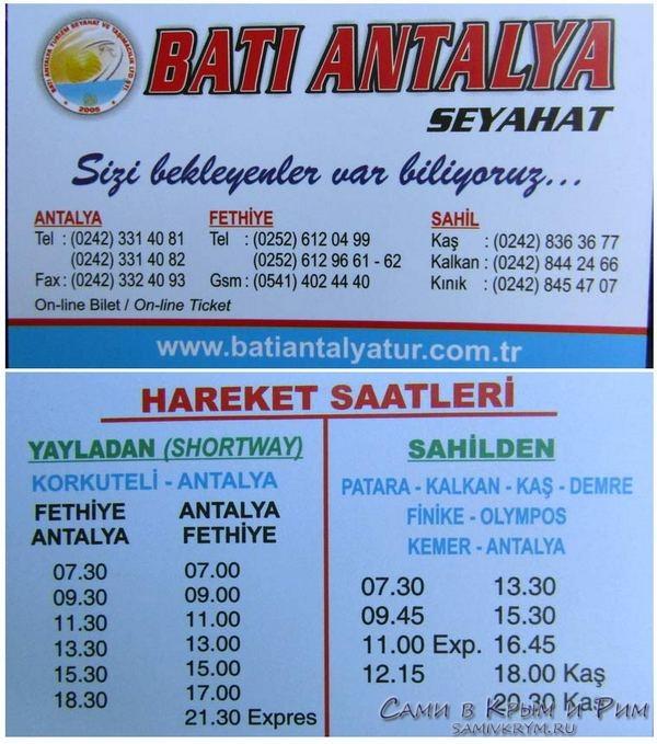 Компания Bati Antalya