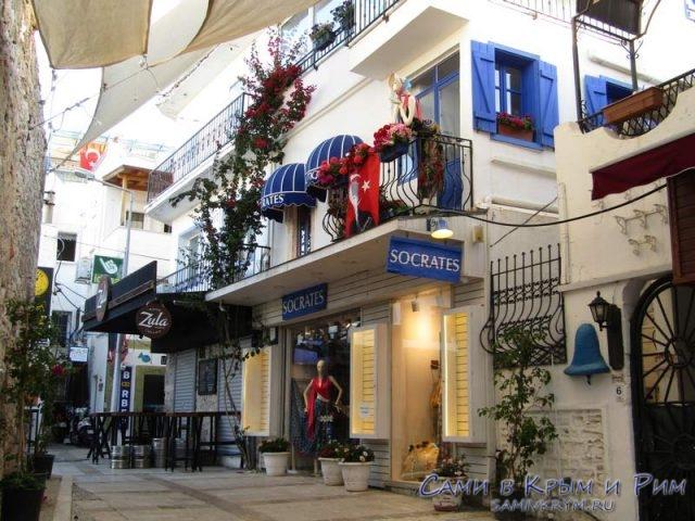 Магазины на улочках старого города