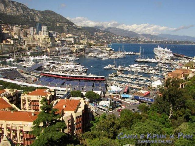 Монако во всей красе