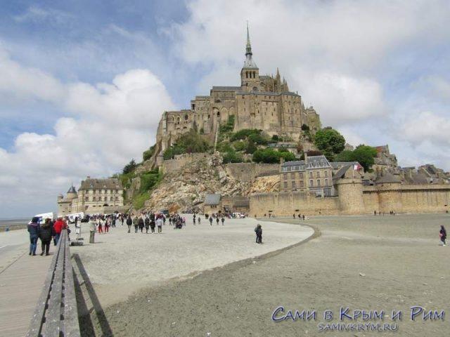 Mont Saint Michel во всей красе