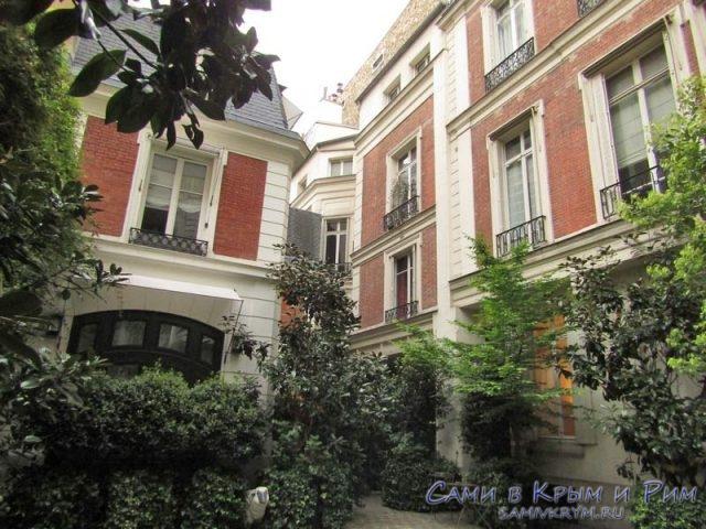 Наша квартира в Париже