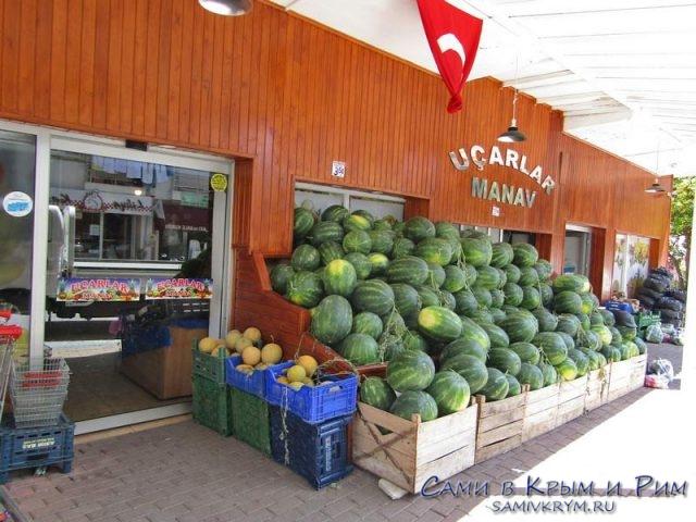 Овощной магазин в Каше