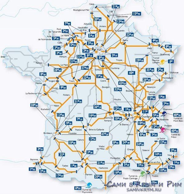 Платные-дороги-во-Франции-схема