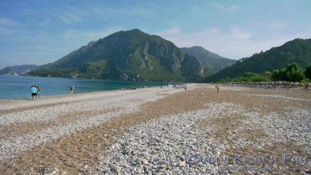 Пляж Чирали