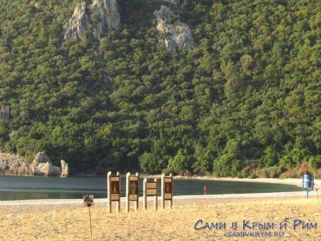 Пляж воздле Олимпоса