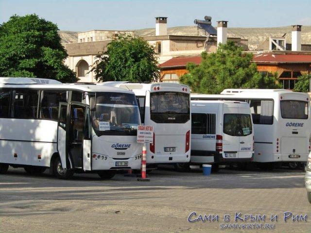Пригородные автобусы в Турции