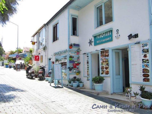 Ресторан Panorama в Каше