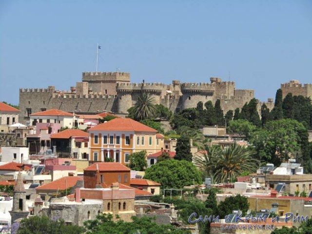 Рыцарский замок на Родосе