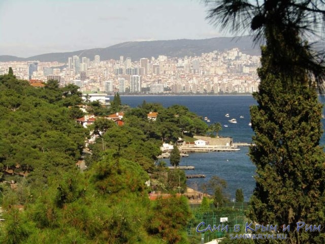 Шикарный вид на Стамбул
