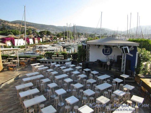 Вечеринки в яхт-клубе Бодрума