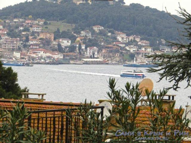 Вид на остров Хейбелиада с Бююкада