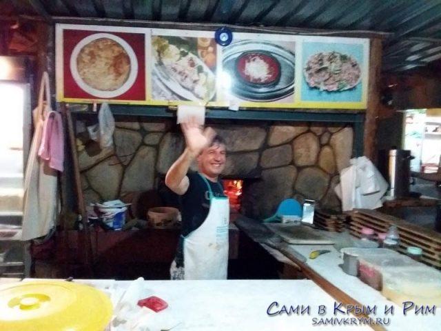 Волшебный повар из ресторана в Чирали