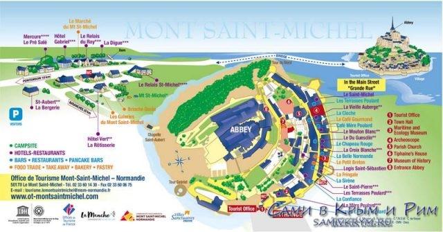 карта-Сен-Мишелль