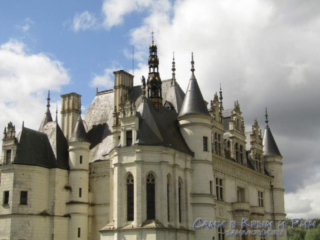 Архитектура дворца Шенонсо