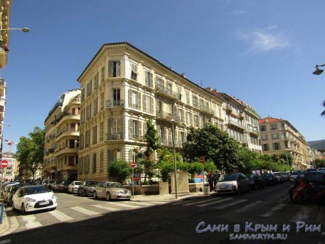 Архитектура в центре Ниццы