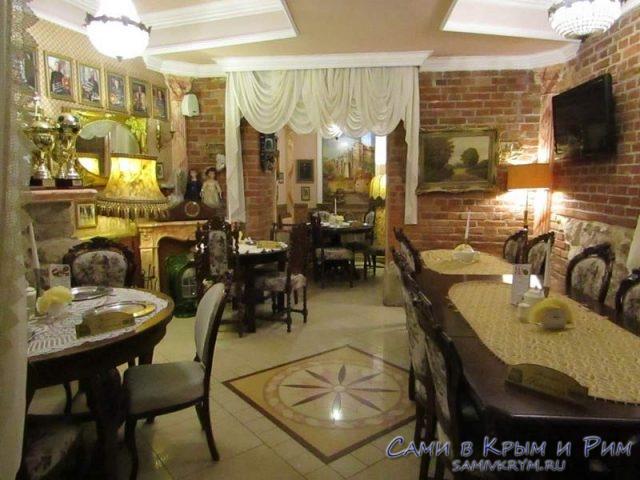 Интерьер-ресторана-у-Бабци-Малинци