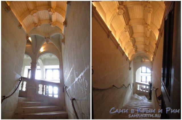 Лестницы-в-замке-Шенонсо