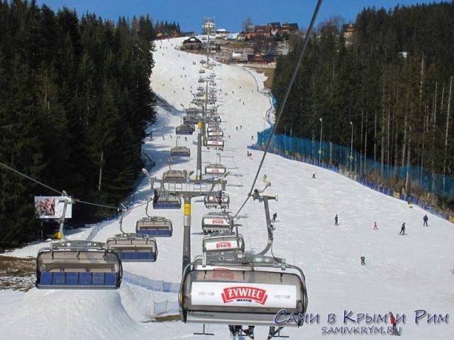 Лыжи-в-Закопане