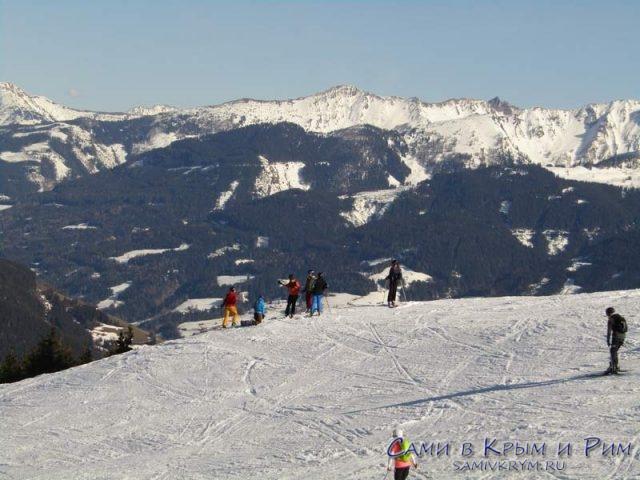 Лыжные-горки-на-горе-Цель-ам-Зее