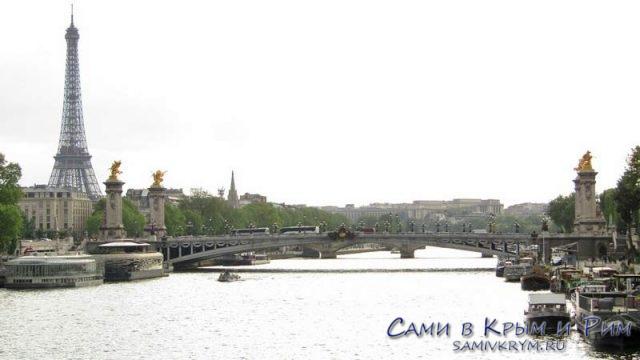 Магическая Сена и Эйфелева башня