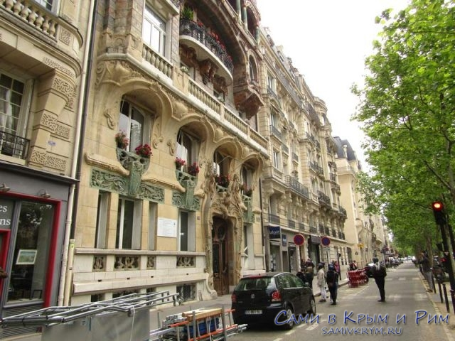 Невероятно красивая архитектура Парижа