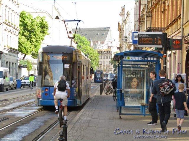 Общественный транспорт Кракова