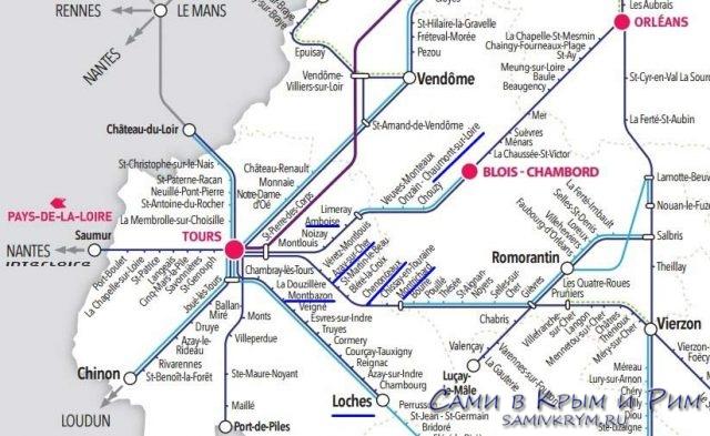 Поезд-Орлеанс-Тур