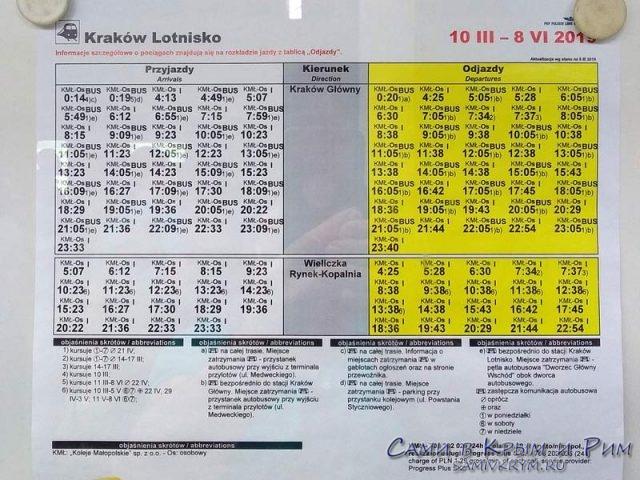 Расписание поездов из Аэропорта