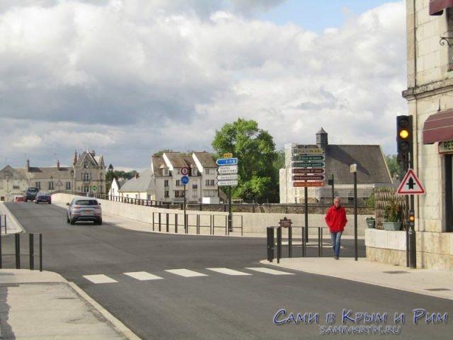 Развилка на мост и ж.д. вокзал
