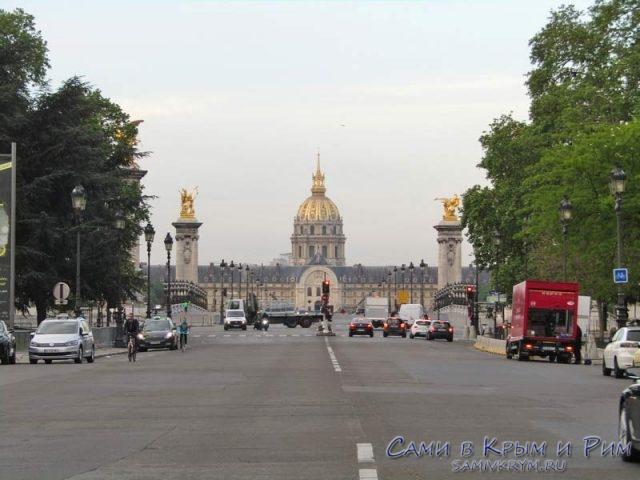 Широкие парижские проспекты