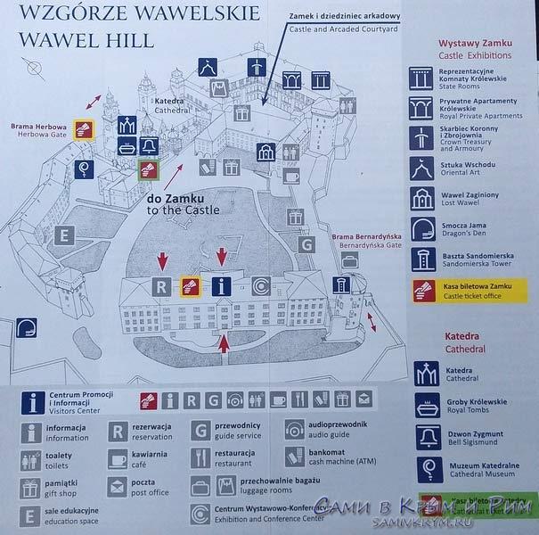 Схема-вавельского-дворца-и-территории